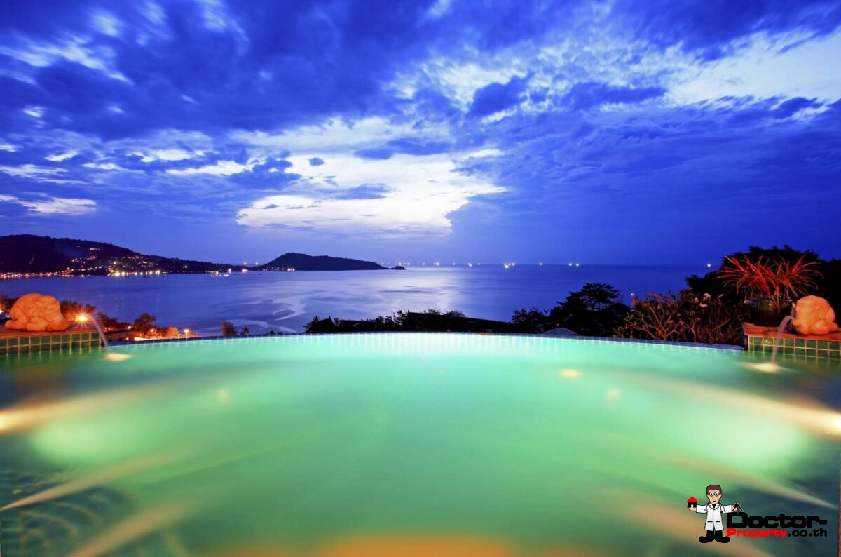 Spectacular 4 Bedroom Villa - Overlooking Patong Bay - Patong Beach - Phuket West - for sale
