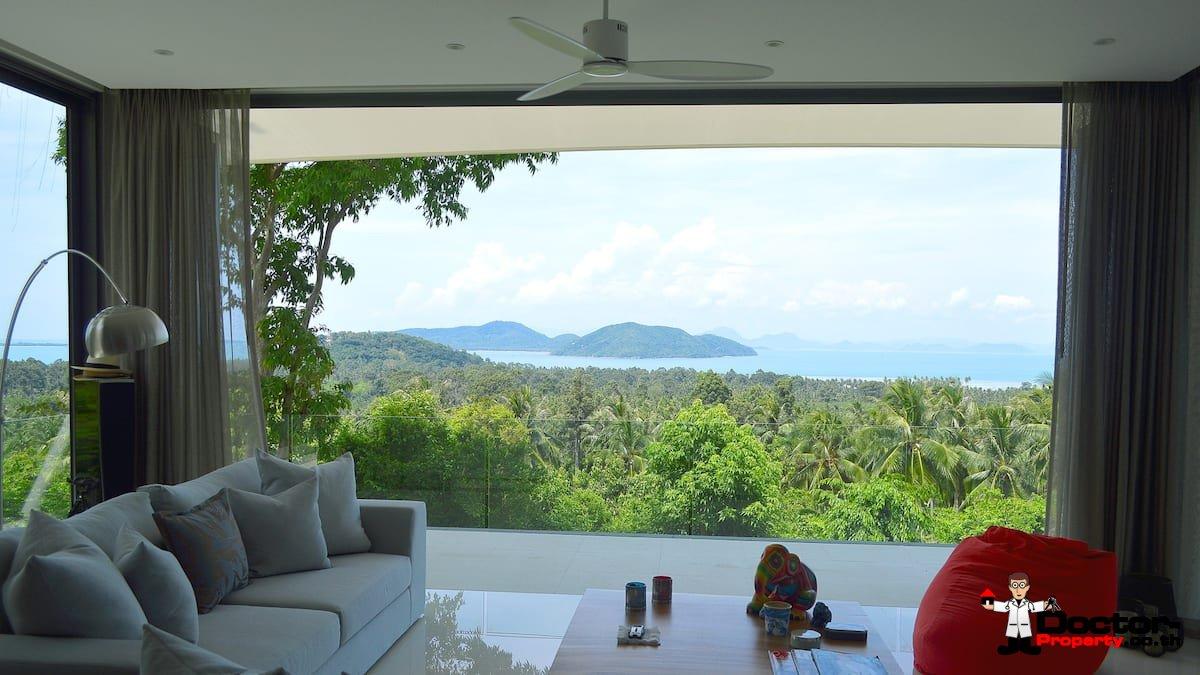 Stunning 4 Bedroom Sea View Pool Villa – Taling Ngam – Koh Samui – for sale