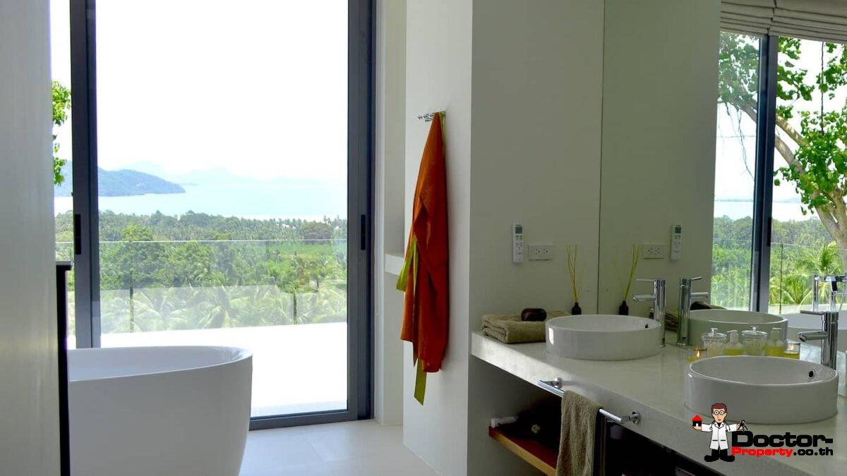 Stunning 4 Bedroom Sea View Pool Villa - Taling Ngam - Koh Samui - for sale