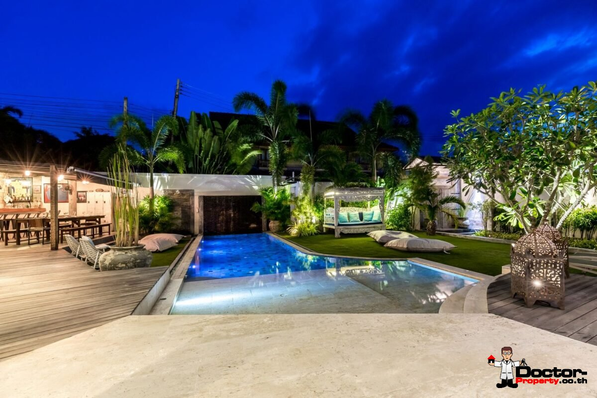 Unique 5 Bedroom Villa - Fisherman´s Village - Koh Samui - for sale