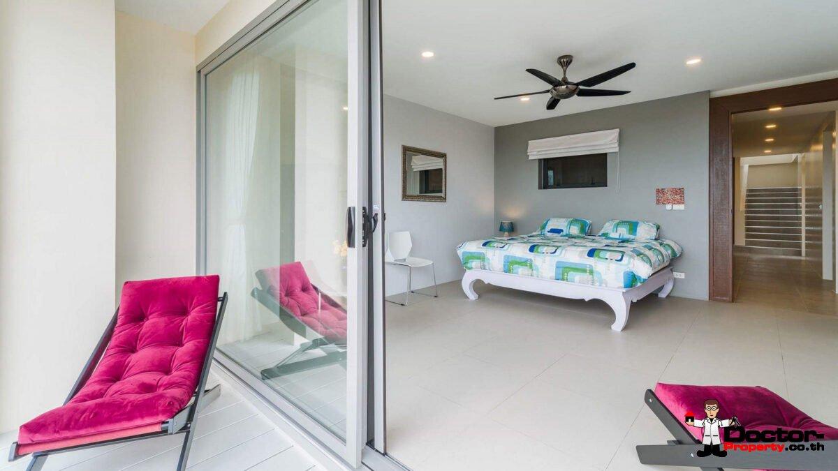4 Bedroom Sea View Villa - Bophut - Koh Samui - for sale