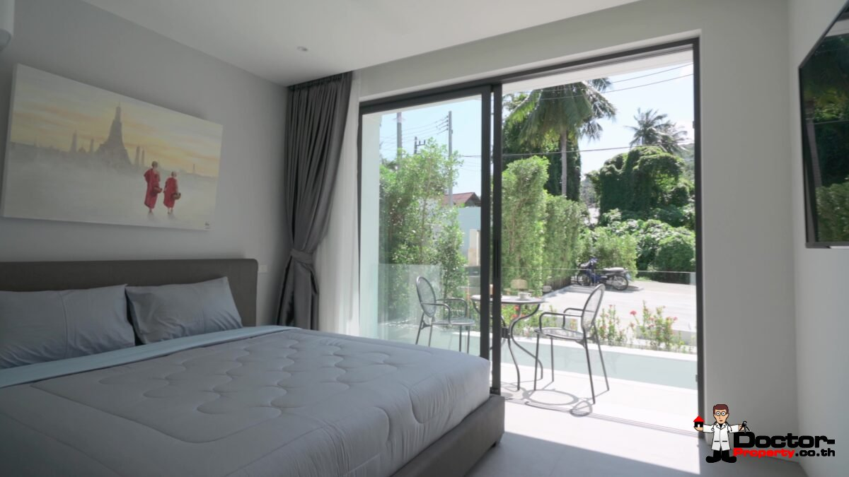 New 9 Room Aparthotel in Bo Phut, Koh Samui – For Sale