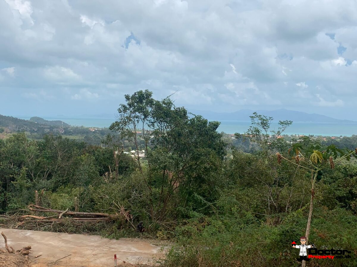 Fantastic Sea View Land - Bophut - Koh Samui - for sale