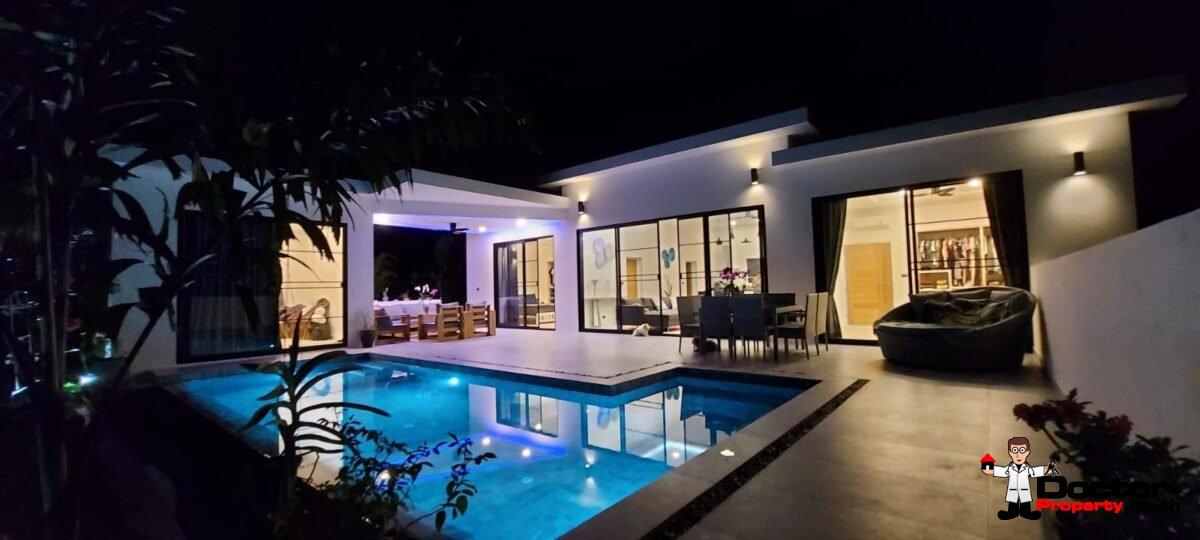 New 3 Bedroom Pool Villa – Lamai Beach, Koh Samui – For Sale