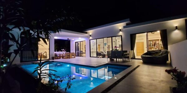New 3 Bedroom Pool Villa – Lamai Beach, Koh Samui – For Sale