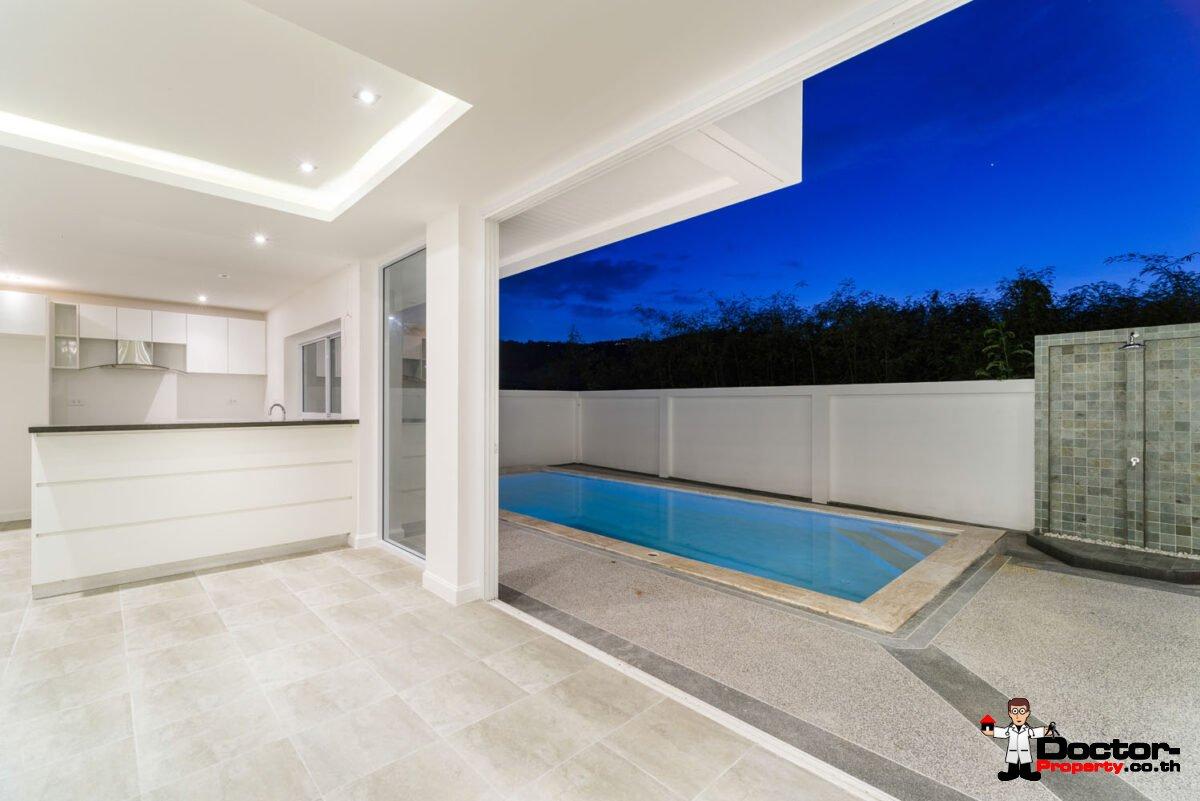 New 3 Bedroom Privat Pool Villa - Bophut - Koh Samui - for sale