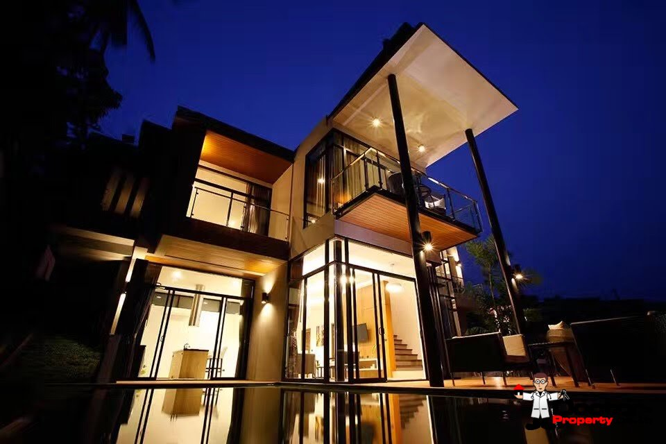 New 3 Bedroom Sea View Villa - Chaweng Noi - Koh Samui - for sale