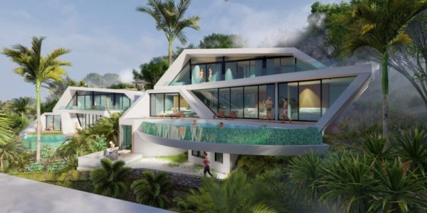 New 4 Bedroom Sea View Villa - Bophut - Koh Samui - for sale