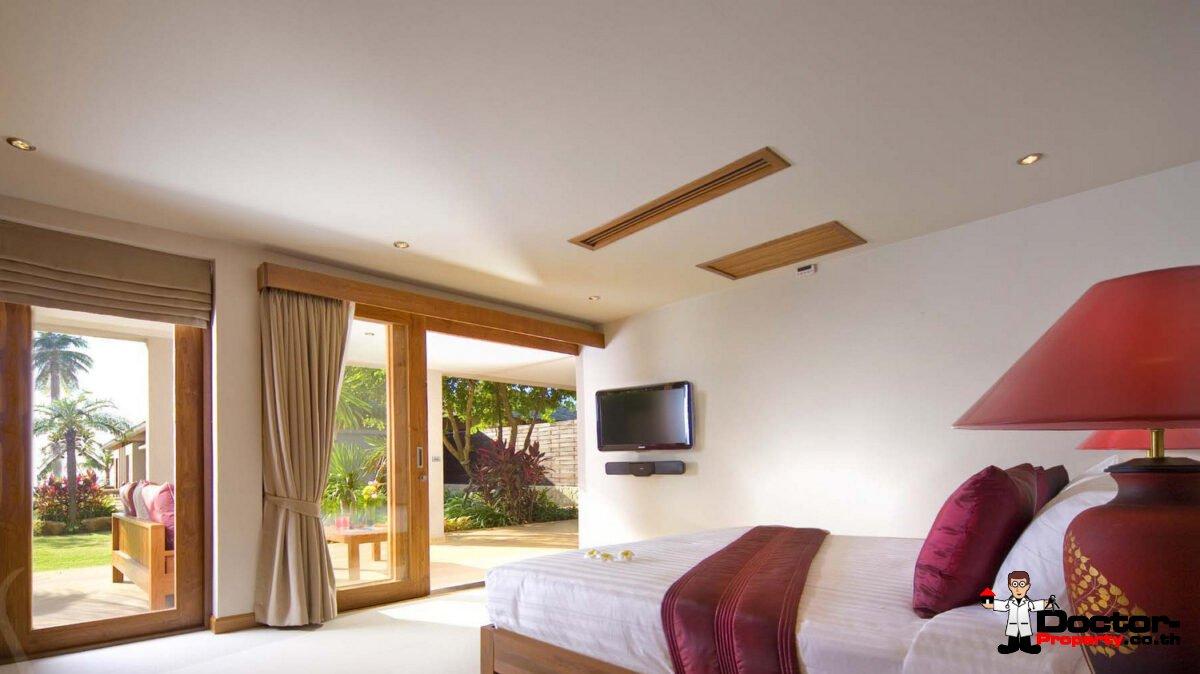 5 Bedroom Beachfront Pool Villa – Nathon, Koh Samui – For Sale