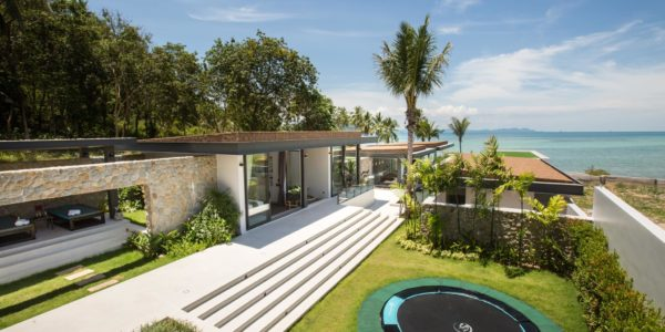 New 7 Bedroom Beachfront Villa – Laem Sor, Koh Samui – For Sale