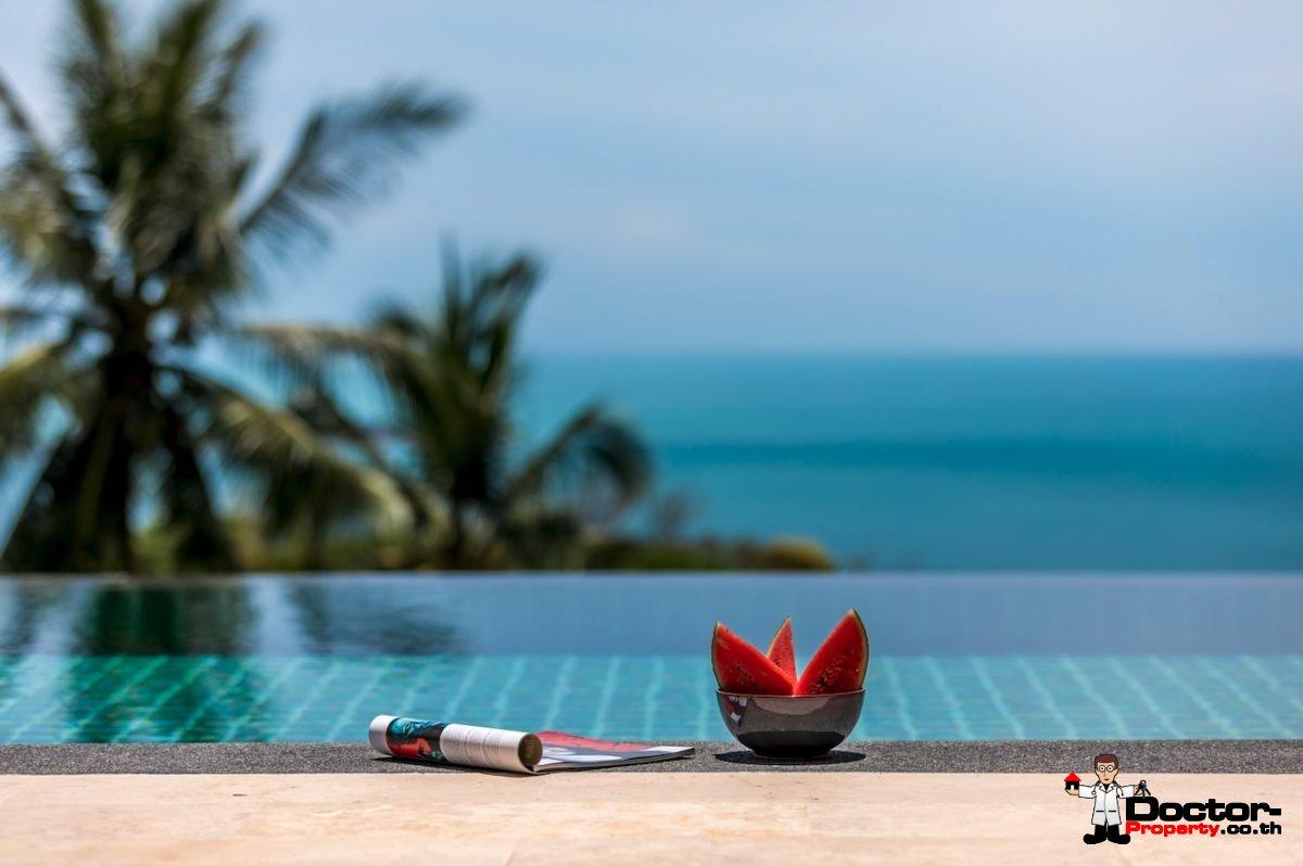 Fantastic 4 Bedroom Sea View Villa – Chaweng – Koh Samui – for sale