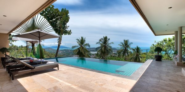 Fantastic 4 Bedroom Sea View Villa - Chaweng - Koh Samui - for sale