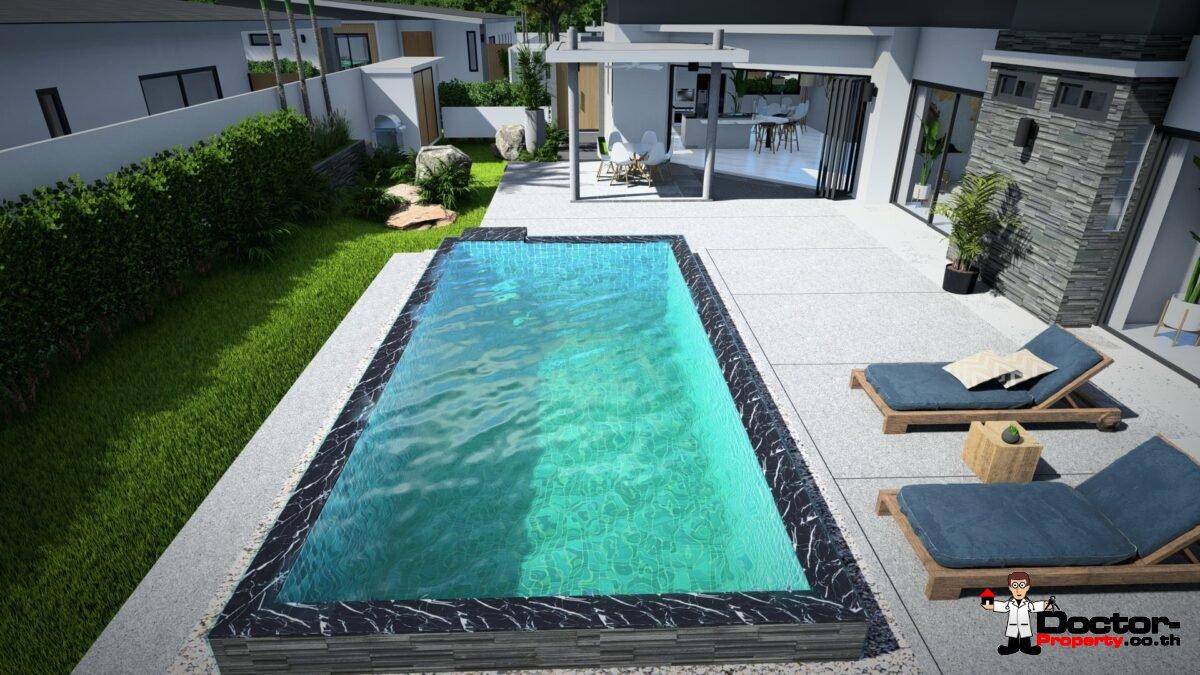 New 2, 3 & 4 Bedroom Pool Villas in Mae Nam, Koh Samui – For Sale