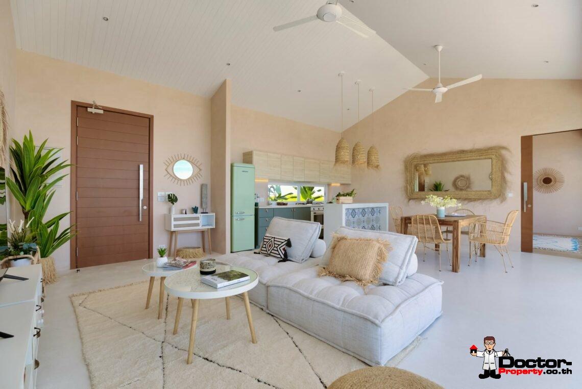 New Furnished 2 Bedroom Pool Villa – Bang Por, Koh Samui – For Sale