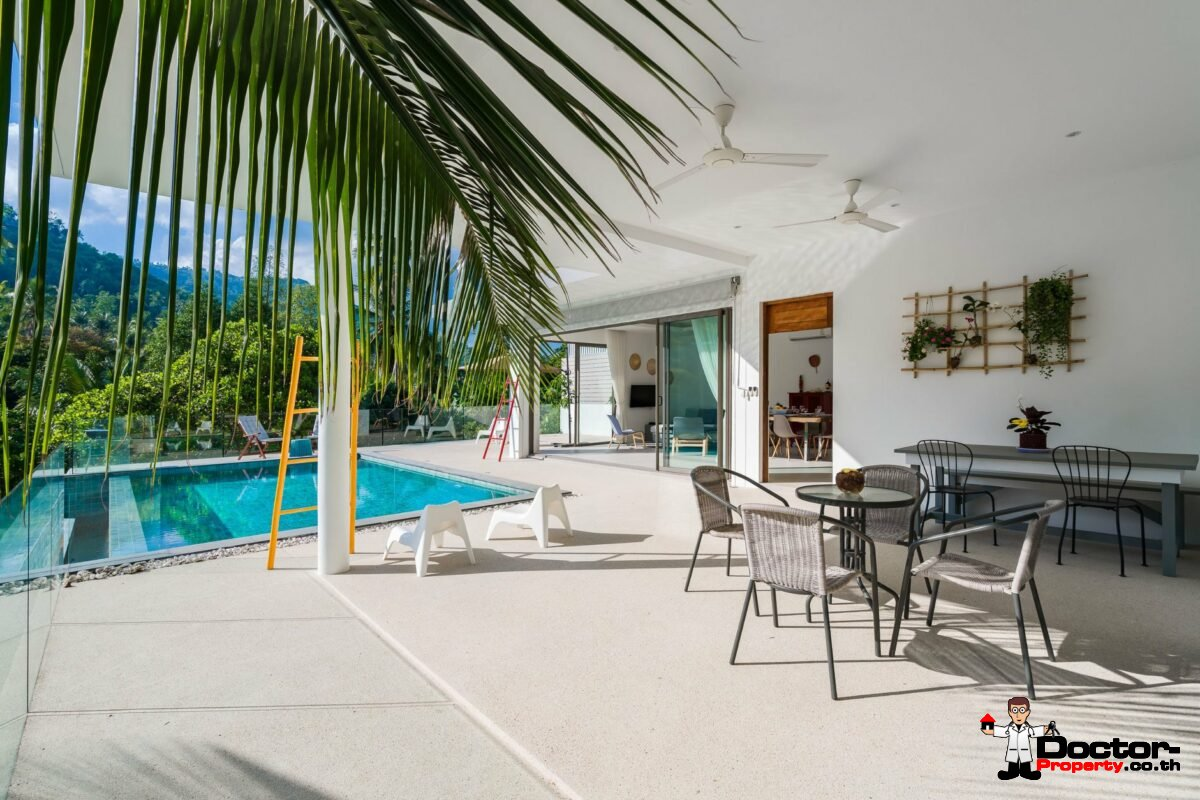 Brand New 3 Private Pool Villas – Chaweng Noi – Koh Samui – for sale