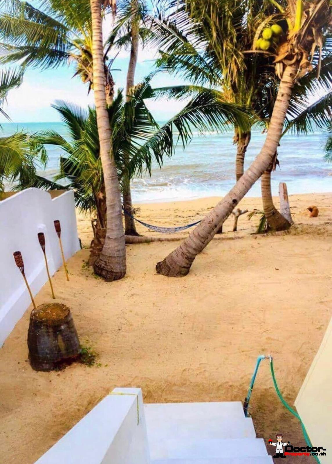 Cozy 12 Bungalow Resort – Beachfront – Bang Por – Koh Samui – for sale