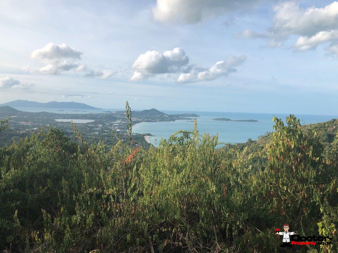 Fantastic 2 Rai Sea View Land - Chaweng Noi - Koh Samui - for sale