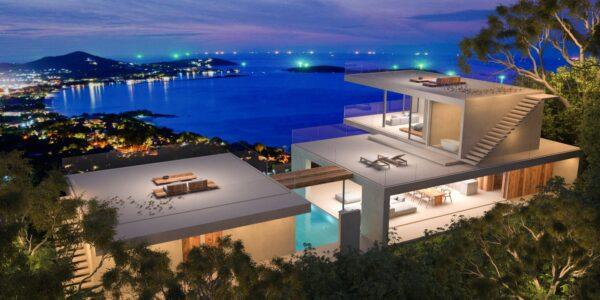 New 3 Bedroom Designer Villa – Stunning Sea Views – Chaweng Noi – Koh Samui – for sale