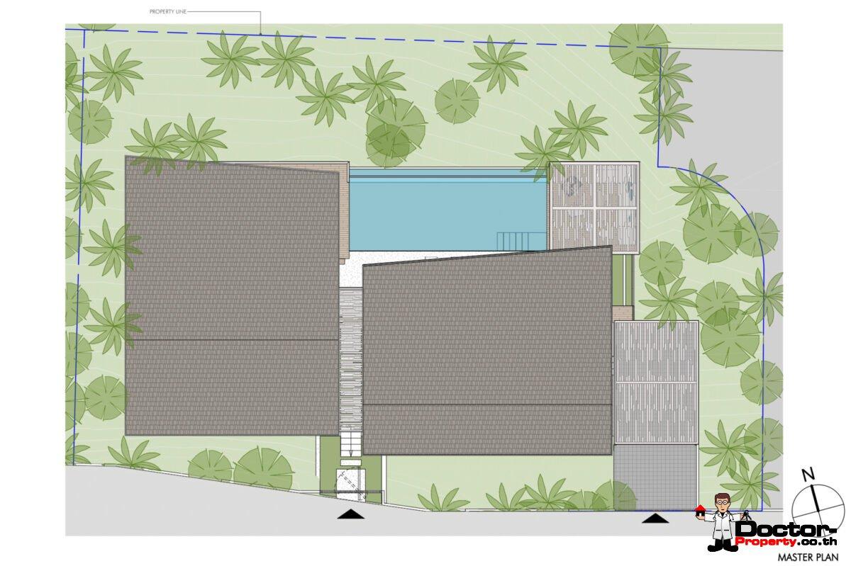 New Furnished 2 Bedroom Pool Villa – Meanam, Koh Samui – For Sale