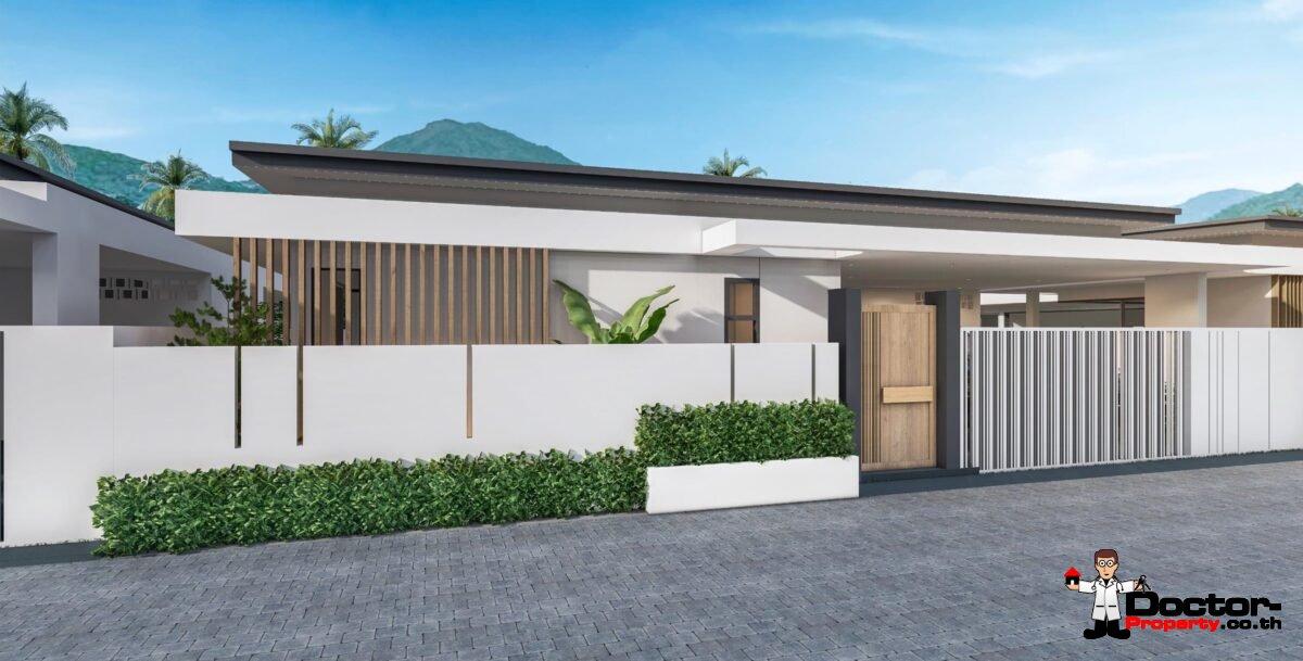 New! 2-3 Bedroom Pool Villas – Bophut, Koh Samui – For Sale