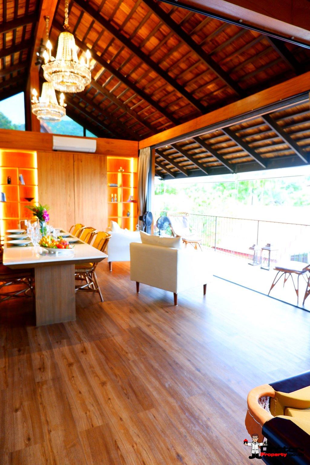 Beachside 3 Bedroom villa - Bang Por, Koh Samui - For Sale