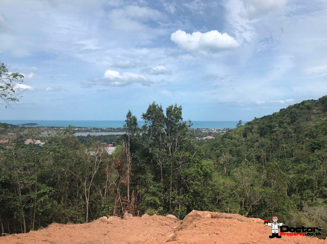 Sea View Land - 5.5 Rai - Chaweng - Koh Samui - for sale