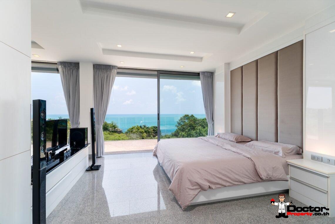 Stunning Sea View Villa - Choeng Mon - Koh Samui - for sale - Doctor-Property
