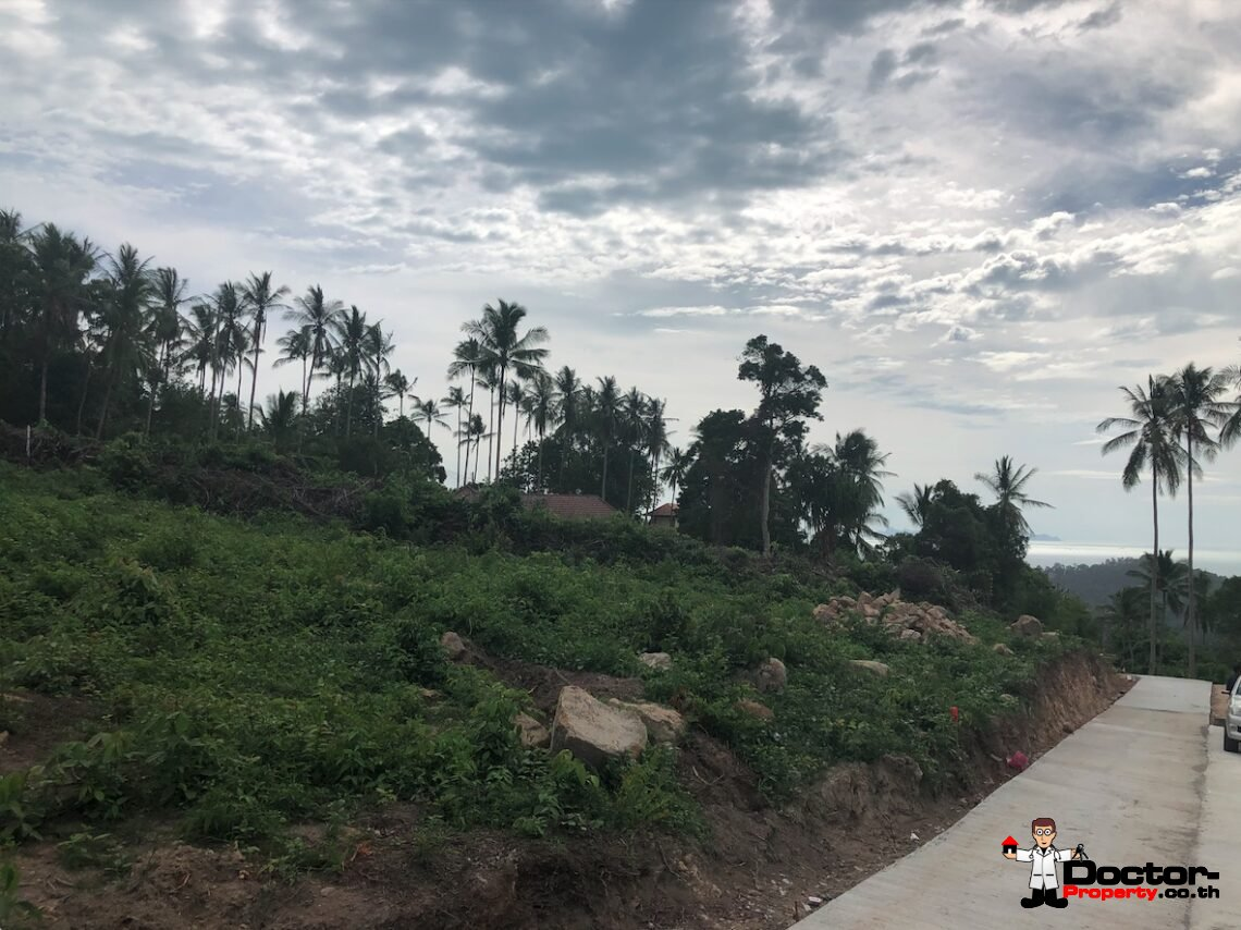 1 Rai Sea View Land - Taling Ngam - Koh Samui - for sale