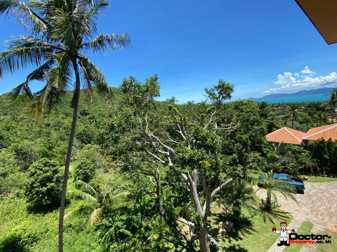 Fanstastic 4+2 Bedroom Sea View Villa - Bang Rak - Koh Samui - for sale