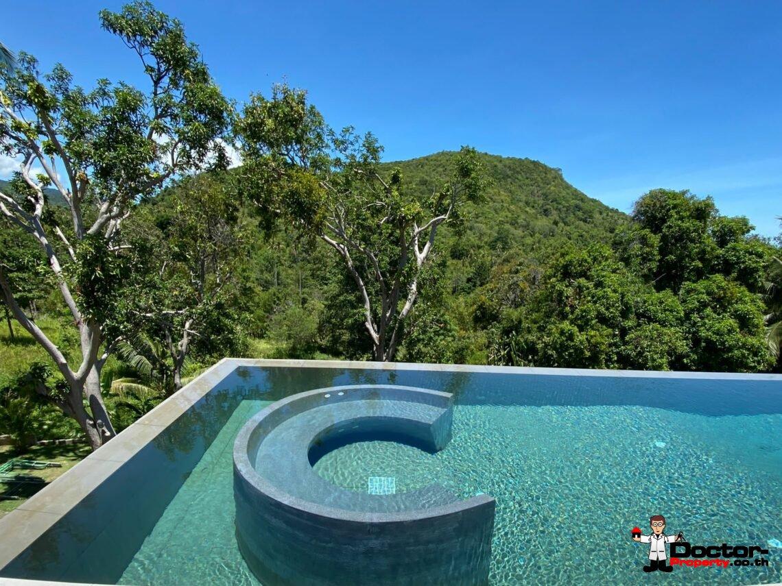 Fanstastic 4+2 Bedroom Sea View Villa – Bang Rak – Koh Samui – for sale
