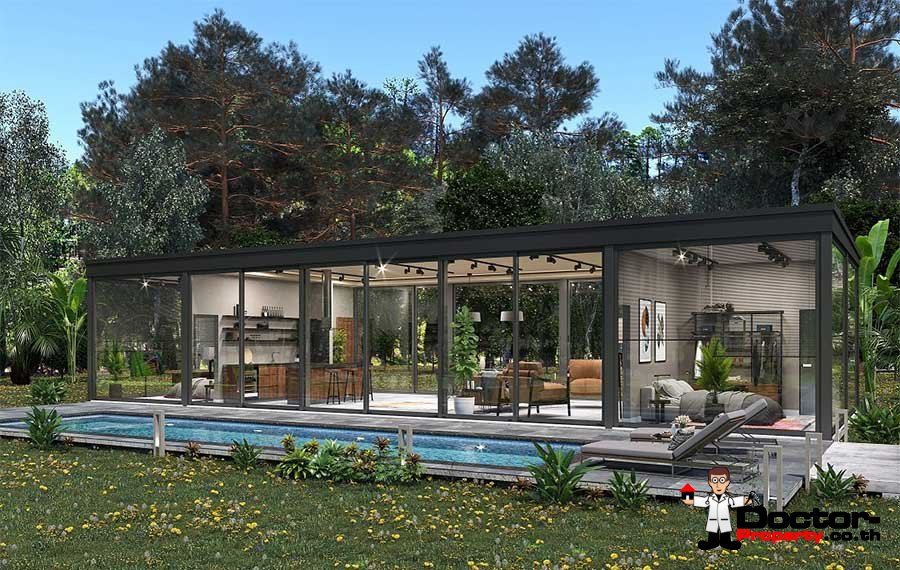 Privat Pool Villa - 2 Bedroom - Mae Nam - Koh Samui - for sale