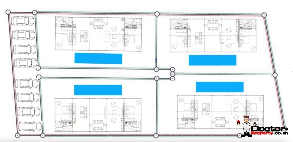 Privat Pool Villa – 2 Bedroom – Mae Nam – Koh Samui – for sale