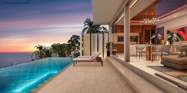 Brand New 3-Bed Contemporary Pool Villa – Sea View – Bang Por – Koh Samui – for sale