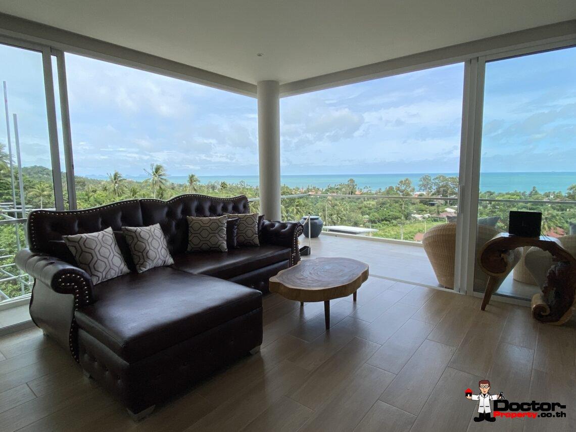 New Resale 2 Bedroom Apartment with Sea View – Bang Por – Koh Samui